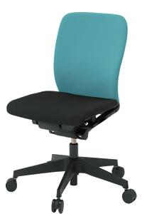 イトーキ フルゴ オフィスチェア ローバック 本体カラー T1ブラック 肘なし 布張りKF-440GBT1