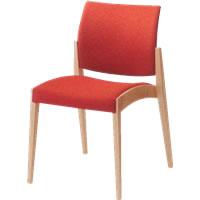 オカムラ ミーティングチェア ミーティングチェアー 会議椅子 会議用チェア チェアー 椅子 木製 セロー ライトカラーフレーム 8149RZ