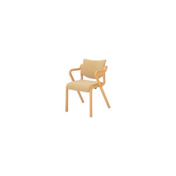 オカムラ 椅子 木製 L112SX-FS
