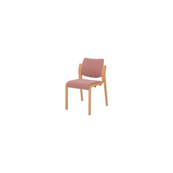 オカムラ 椅子 木製 布張り オカムラL112SZ