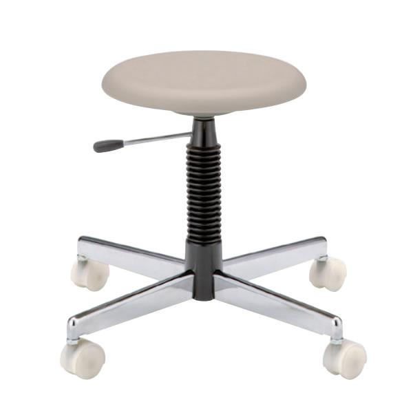 クリーンチェアー 作業用チェアー 作業椅子 作業用椅子 ブロー成型 座回転椅子 ガス調節TCC-8LN