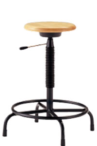 高作業用チェアー 作業用チェア 作業椅子 作業用椅子 ガス昇降付 TDL-300T