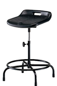 高作業用チェアー 作業用チェア 作業椅子 作業用椅子 手動上下調節 TF-199