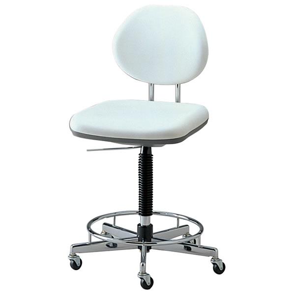 導電チェアー 作業用チェア 作業チェア 作業用椅子 背付タイプNOTSW-EG6R