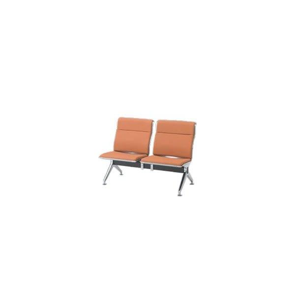 オカムラ ロビーチェア 23A8 シリーズ 2人用 椅子 ウレタンレザー 共張り 23A8YA-P