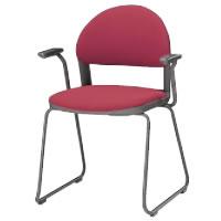 コクヨ ミーティングチェア 会議イス 会議椅子 会議用イス 会議椅子 会議チェアー 150シリーズ 肘付き チェア CK-153F4