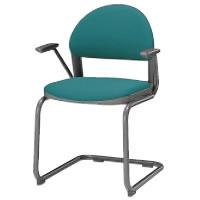 コクヨ ミーティングチェア 会議イス 会議椅子 会議用イス 会議椅子 会議チェアー 150シリーズ カンチレバー脚 肘付き チェア CK-155F4