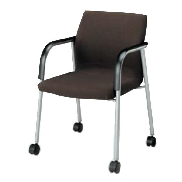 コクヨ 会議椅子 会議チェアー 300シリーズ スクエアタイプ キャスター付 肘付き ミーティングチェア CK-301C