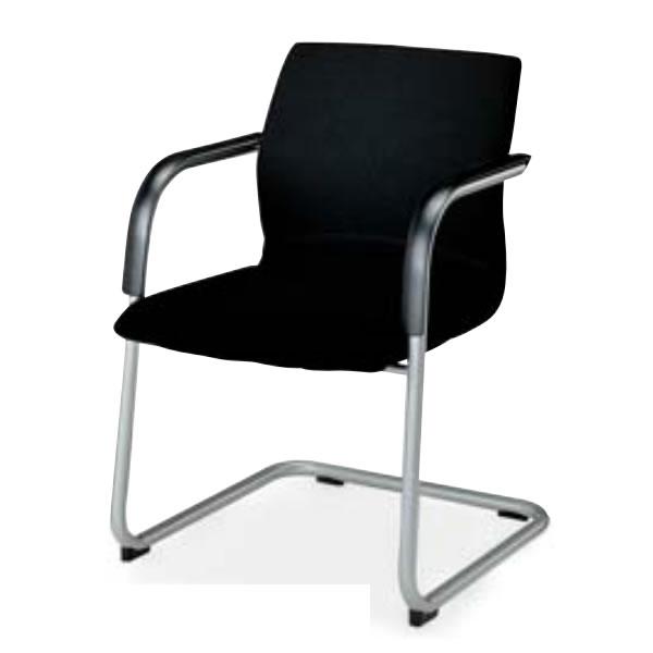 コクヨ 会議椅子 ミーティングチェアー 300シリーズ スクエアタイプ キャンチレバー脚 肘付き ミーティングチェア CK-305