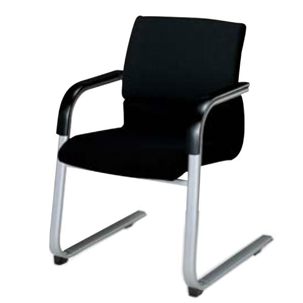 コクヨ 会議椅子 ミーティングチェアー 300シリーズ スクエアタイプ キャンチレバー脚 肘付き ビジターチェア CK-308