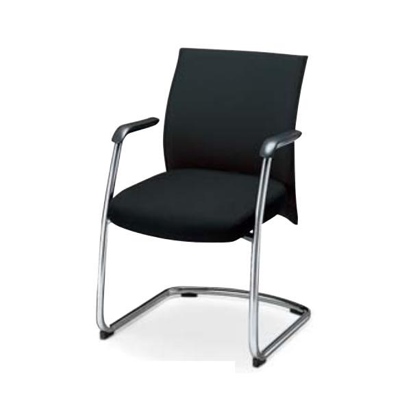 コクヨ 会議椅子 ミーティングチェアー エクサージュ 肘付き キャンチレバー脚 ビジターチェア CK-706F5