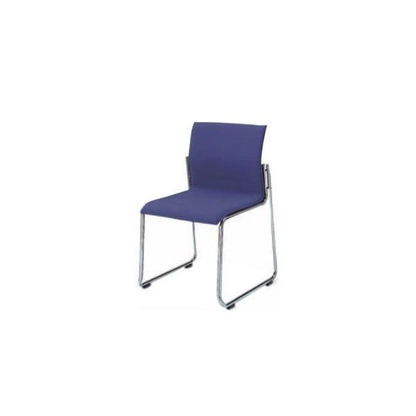 コクヨ ミーティングチェア 会議イス 会議椅子 オフィス セミナー 会議用イス 会議椅子 会議チェアー 240シリーズ スチールメッキ脚 肘なし チェア CK-M242