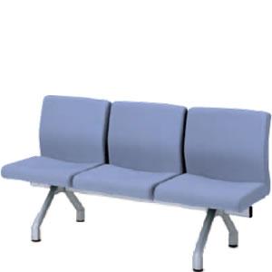 コクヨ ロビーチェア 長椅子 470シリーズ3連チェアー CN-473