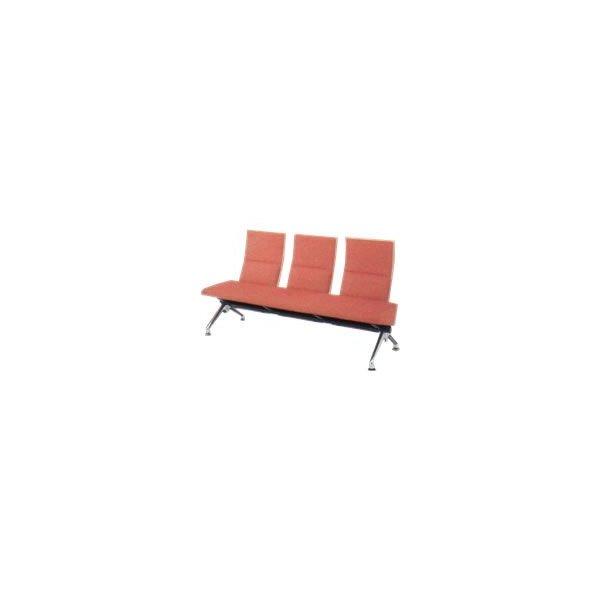 オカムラ ロビーチェア セデオ シリーズ 椅子 ウレタンレザー背パッド付 LB24ZA-P