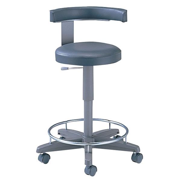 病院 イス ドクター用 チェアー 左肘掛付 リング付 メディカル チェア 医療 椅子 NOSLD-480L