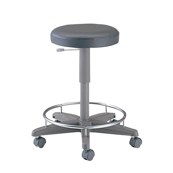 病院 イス ドクター用 チェアー 背無し リング付 メディカル チェア 医療 椅子 SND-465L