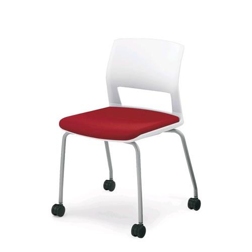 コクヨ 会議椅子 ミーティングチェア 肘なし 背樹脂 キャスター脚 スタッキング 160シリーズ CK-160C