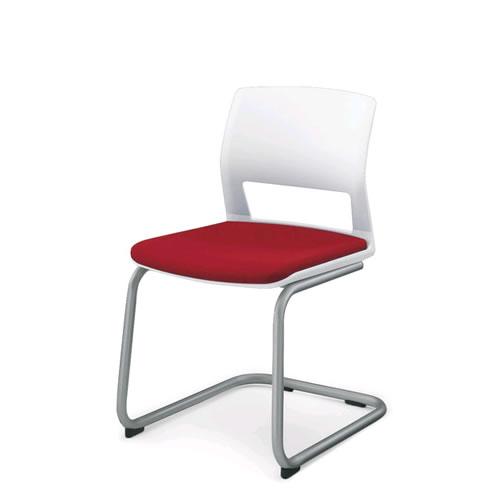 コクヨ 会議椅子 ミーティングチェア 肘なし 背樹脂 キャンチバレー脚 160シリーズ CK-162