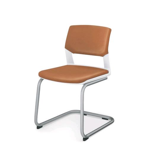 コクヨ 会議椅子 ミーティングチェア 肘なし 背カバー付 キャンチバレー脚 160シリーズ CK-162R