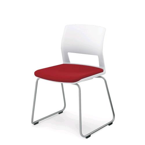 コクヨ 会議椅子 ミーティングチェア 肘なし 背樹脂 サークル脚 160シリーズ CK-164