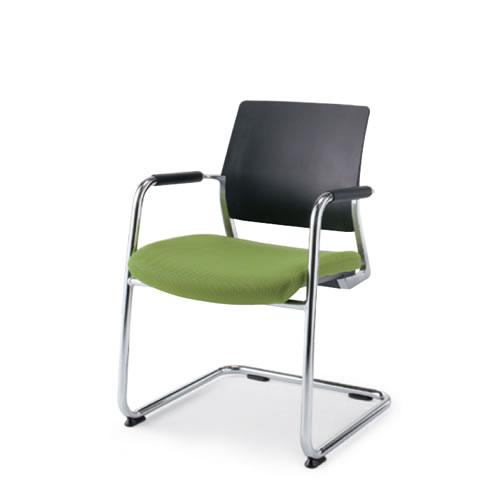 コクヨ 会議椅子 ミーティングチェア 固定脚 キャンチレバー脚 エアフォート/V 肘付 CK-M231