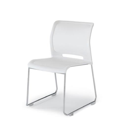 コクヨ 会議椅子 ミーティングチェア 肘なし サークル脚 スタッキング カラベル CK-M640
