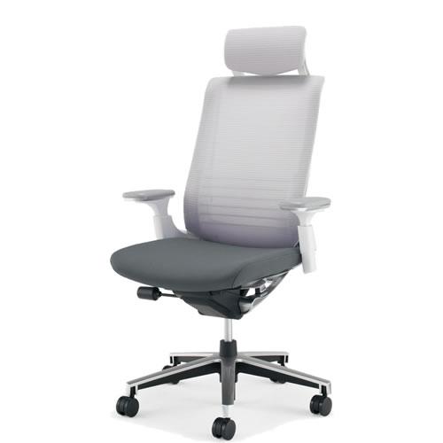 コクヨ インスパイン オフィスチェア デスクチェア ワークチェア パソコンチェア PCチェア 役員 椅子 可動肘 ヘッドレスト付 前傾姿勢 CR-GA2515