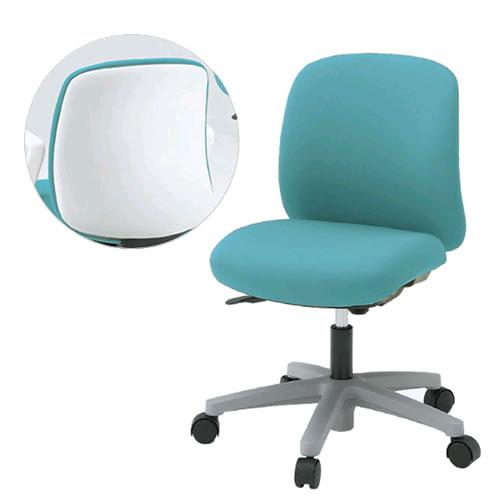 イトーキ ボニート Bonito オフィスチェア セレクトタイプ ベースカラーW9 肘なし GB布張り KT-140GB-W9
