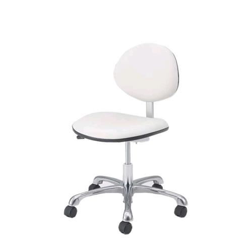 オカムラ クリーンルーム チェア 導電チェアー 作業用チェア 作業チェア 作業用椅子 キャスター ガス上下調節 背付き リングなし 2660ZR