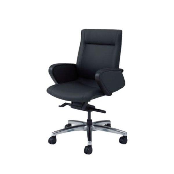 オカムラ CE エグゼクティブチェア 社長椅子 役員椅子 ローバック 幕板付 固定肘 ビニール CZタイプ CE59CZ-PB