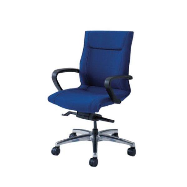 オカムラ CE エグゼクティブチェア 社長椅子 役員椅子 ローバック 幕板なし 固定肘 ビニール FZタイプ CE59FZ-PB