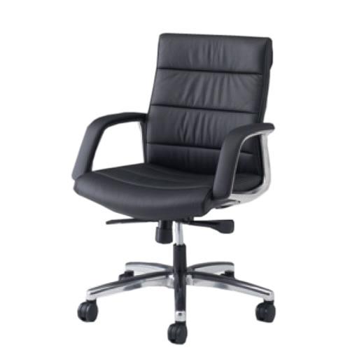 オカムラ CE エグゼクティブチェア 社長椅子 役員椅子 幕板なし 固定肘 ローバック RZタイプ CE59RZ