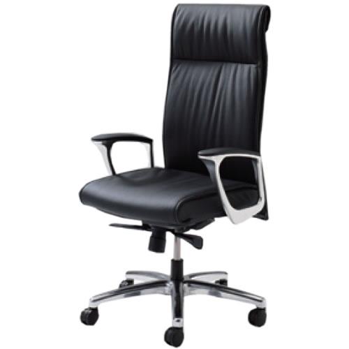 オカムラ CE エグゼクティブチェア 社長椅子 役員椅子 エクストラハイバック 固定肘 革 RXタイプ CE68RX
