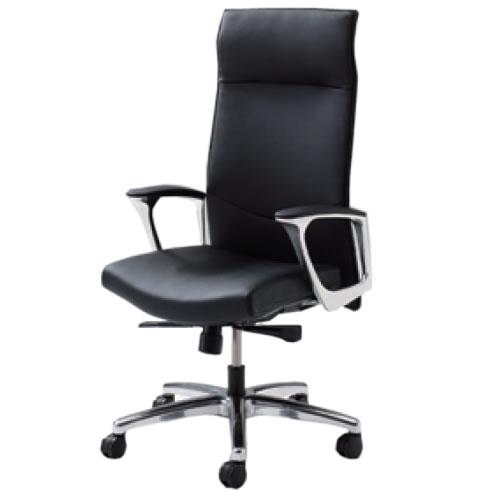 オカムラ CE エグゼクティブチェア 社長椅子 役員椅子 エクストラハイバック 固定肘 革 SXタイプ CE68SX