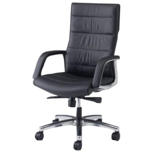 オカムラ CE エグゼクティブチェア 社長椅子 役員椅子 幕板なし 固定肘 ハイバック RZタイプ CE69RZ