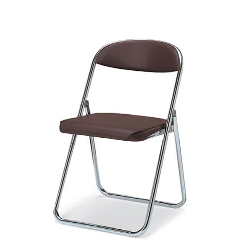 コクヨ 折りたたみ椅子 折りたたみイス 折りたたみバネイス スチール脚 ビニールレザー 座幅405タイプ CF-B7