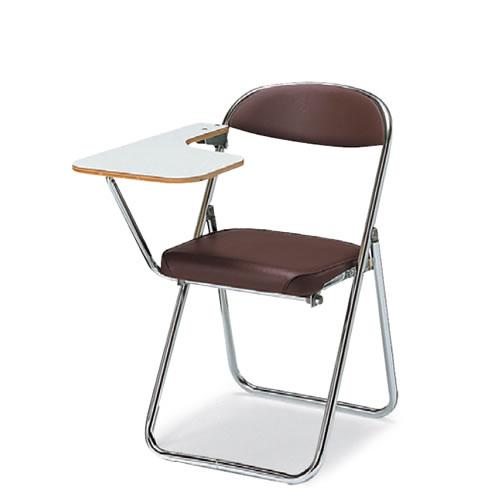 コクヨ 折りたたみ椅子 折りたたみイス 折りたたみバネイス メモ台付 スチール脚 ビニールレザー 座幅380タイプ CF-BN5