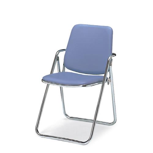 コクヨ 折りたたみ椅子 折りたたみイス 折りたたみバネイス スチール脚 ビニールレザー CF-M28