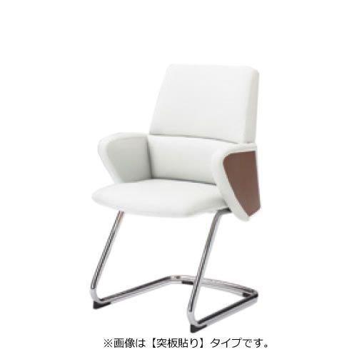 オカムラ セフィーロ エグゼクティブチェア 社長椅子 役員椅子 デザイン肘 突板貼り 布タイプ カンチ脚 L435CW-FS