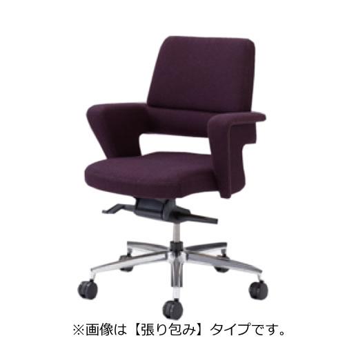オカムラ セフィーロ エグゼクティブチェア 社長椅子 役員椅子 オープンシェル 張り包み 布タイプ ミドルバック L435MZ-FS