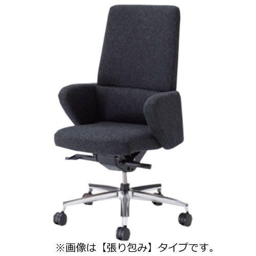 オカムラ セフィーロ エグゼクティブチェア 社長椅子 役員椅子 スタンダード 張り包み 革タイプ ミドルバック L435SM-P