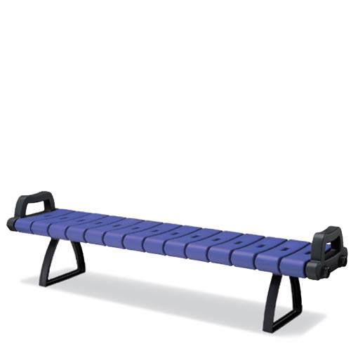 コクヨ 屋外用家具 屋外用ベンチ 背なし 樹脂製ベンチシリーズ PF-B110