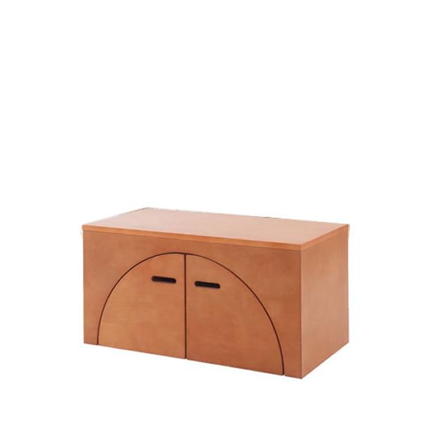 ユニットボックス アークボックス メープル材 ライトブラウン テーブル 壁面収納 間仕切り収納 全32種類から選べる NR-GA-0044