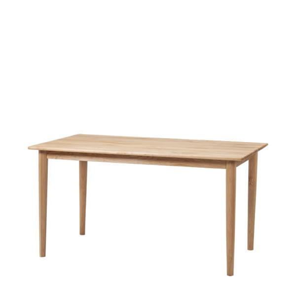ダイニングテーブル アダル 135 ナチュラル センターテーブル テーブル 机 長方形 YK-O1164