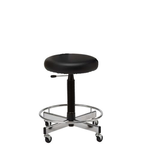 作業用チェア 作業椅子 作業用椅子 ガス上下調節 リング付 CA-35L