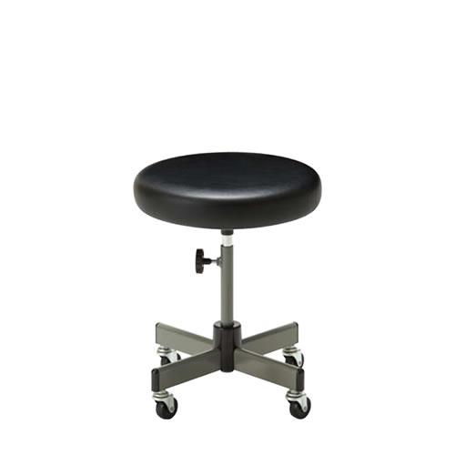 作業用チェア 作業椅子 作業用椅子 手動上下調節 キャスター脚 CA-6K