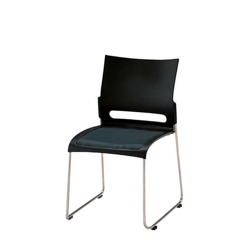 ミーティング会議用チェア パイプ椅子 カルフィー チェアー スチール脚 CLF-43