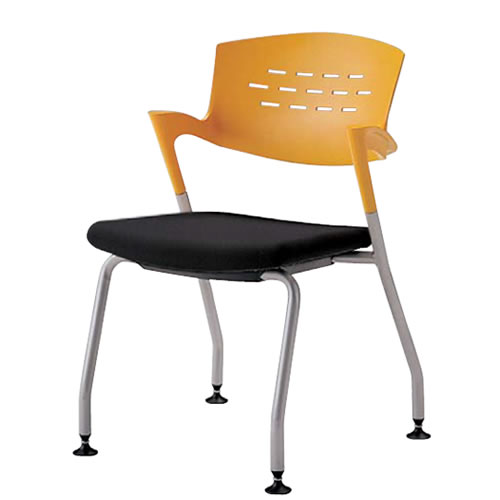 ミーティングチェア 椅子 会議チェア 固定脚 クピット QPC-310