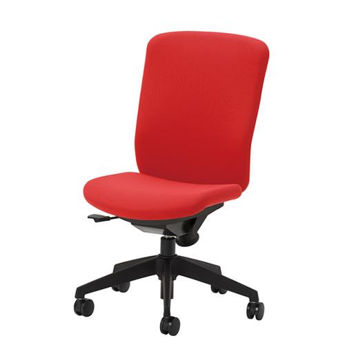 在宅 テレワーク オフィスチェアー オフィスチェア 事務用椅子 QRチェア 肘なし ハイバック 布張り QRS-40
