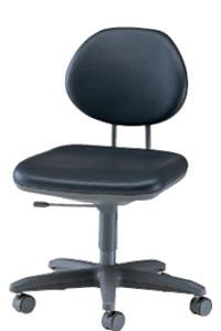 オフィスチェアー オフィスチェア 椅子 肘なし ビニールレザー張り NOTEL-S6L